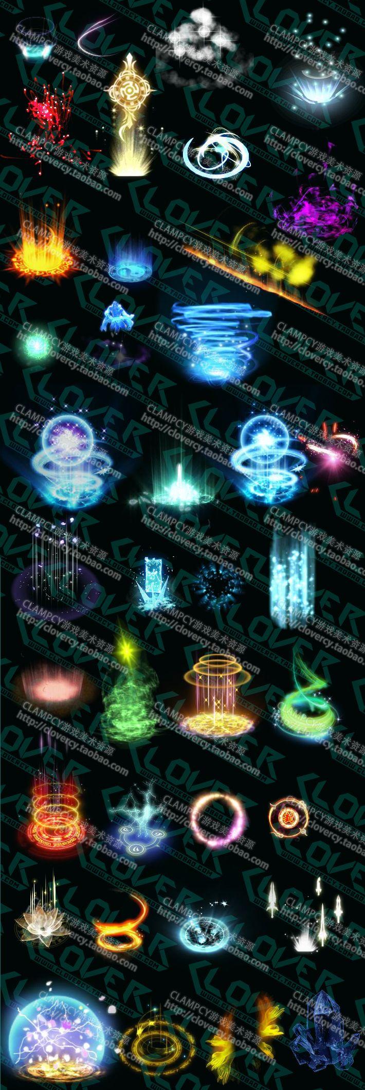 Animações em HD [Resource] 031e8b3e05829c5835e7d12efb14168a-buff-effect-game-art